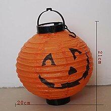 Lxj Halloween vierfarbige Kürbis Spinne Schädel
