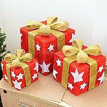 Lxj Nuo Weihnachten Dekorationen Hanf Seide