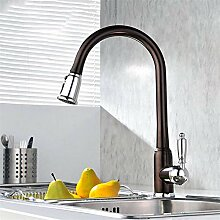 Lxj Wasserhahn voll Kupfer Auszug Küche