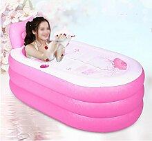 LXJYMX Aufblasbare Dicke Badewanne für Erwachsene
