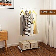 LXLA- Eisen Kleiderständer Floorstanding