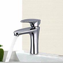 Lxlnxd Badezimmer Waschbecken Armatur Chrom Mixer,