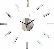 Lxlnxd Wohnzimmer Quarz Wanduhr Aus Acryl Modernes Design Luxus Uhren Spiegel 3D Kristall Geschenk Ansehen