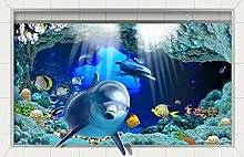 LXPAGTZ 3D Bad klebte HD Strand Wohnzimmer Flur Küche Esszimmer Badezimmer wasserdichte Anti-Rutsch selbst selbstklebende Aufkleber am Boden 900 * 580 mm (35,4 * 22,8 Zoll) #001