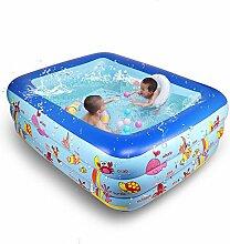 LXQGR Aufblasbares Schwimmbecken, Family Pool