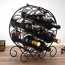 LXRZLS Hochwertiges Weinregal aus