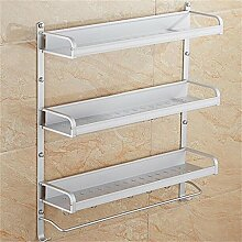 LXSnail Raum Aluminium Bad Racks / Schraub-Racks / Bad Regal Küche Multifunktions ( farbe : 5* )