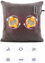 LXT PANDA Shiatsu Rückenmassagegerät Kissen mit