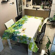 lxtmgzgf Bedruckte Tischdecke Polyester Bedruckte