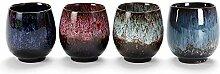 Lxuwbd-Jianzhan Keramik Teetasse Kung Fu Tee Set
