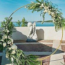 LXUXZ Runden Hochzeitsbogen Eisen Requisiten