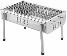 LXVY Holzkohlegrill Outdoor, Picknickgrill