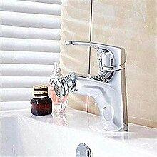 LXX Wasserhahn einfache Messingstruktur Bad