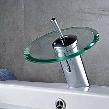 LXX Wasserhahn Glasauslass Wasserfall