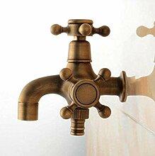 LXX Wasserhahn Wasserhahn Antik Bronze Messing