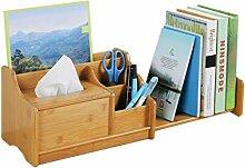 LXYFMS Einfaches Bücherregal Schreibtischregal