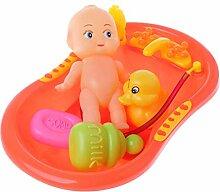 LXZ Cartoon-Baby-Dusche-Spielzeug mit