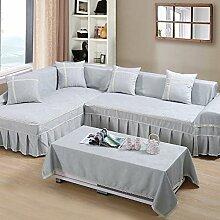 LY&HYL All-Saison Heimtextilien Volle Deckung Mercerized Kaschmir universal Sofa Abdeckung , 3 , 210*350Sofa Cover