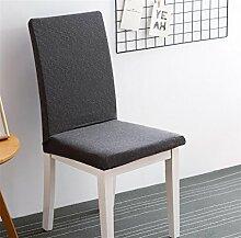 LY&HYL All-Season Heimtextilien Farbe Elastische Computer Büro Stuhl Abdeckung Verbunden Rücken Stuhl Set Hotel Stuhl Abdeckung