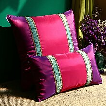 LY&HYL Farbe Lila Rose-Sofa Kissen Kissen Lendenkissen Heimtextilien , 50*50