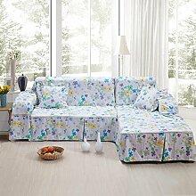 LY&HYL General Home Textil modernen Stil mehrfarbige feste reine 100% Baumwolle Sofa Abdeckung slipcovers Sofa Handtuch , 200*350Sofa Cover