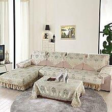 LY&HYL Heimtextilien Anti-Rutsch hochelastischen All-inclusive-Sofa-Möbel-Schutz-Sofa Handtuch , armres