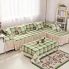 LY&HYL Heimtextilien Sofa Möbel Beschützer Rutschfester Stoff decken den gesamten Satz von Sofa Abdeckung , 5 , 215*200