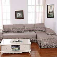 LY&HYL Heimtextilien Spitze helle Draht dicke warme Sofa-Möbel-Schutz Anti-Blockier-System Sofa Abdeckung Armlehne Rückenlehne Handtuch , 90*90