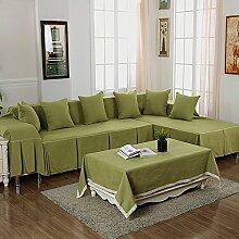 LY&HYL Heimtextilien Tuch Antirutsch - Leinen Kombination von vier - Saison bedeckt Sofa Handtuch , 4 , 210*260