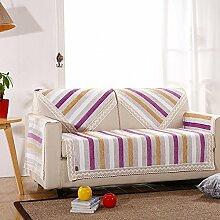 LY&HYL Home Decoration Leinen Leinen vier Jahreszeiten rutschfeste grobe Tuch Sofa Handtuch Armlehne , 2 , 70*180cm
