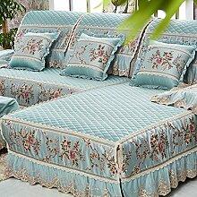 LY&HYL Home Textiles Stickerei modernen Tuch vier Jahreszeiten Sofa Möbel Beschützer Anti-Rutsch-Sofa Abdeckung Armlehne Rückenlehne Handtuch , 1 , 90*210