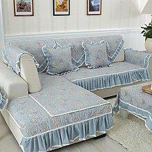 LY&HYL Home Textiles Volle Abdeckung Hirtenart gesteppter rutschfester Stoff Sofa-Möbel-Schutz-rutschfeste Sofaabdeckung , 1 , 90*180