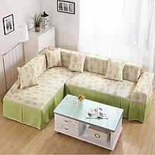 LY&HYL Home Textiles Vollständige Abdeckung Pastoral universelle universelle Anti-Rutsch-Sofa-Abdeckung , 2 , 215*300Sofa Cover