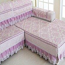LY&HYL Pastoral Quilten Verdickung Sofa-Möbel-Schutz-Sofa Abdeckung Rückenlehne Handtuch Armlehne , 1 , 90*210cm