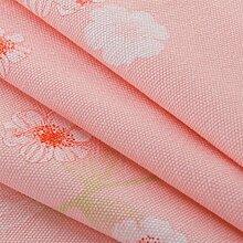 LY&HYL Rosa Baumwolle pastoralen Blumendruck dick Taiwan Wohnzimmer Couchtisch Tuch staubdicht TV Schrank Tuch , 90cm*90cm
