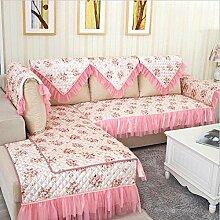 LY&HYL Sofa-Möbel-Schutz Anti-Blockier-System Sofa Pastoral Hause Tuch kleines Tuch Sofakissen abdecken , 90*180