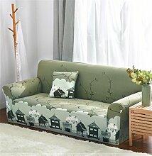 LY&HYL Verdicken Elastizität gestrickte Sofa-Abdeckung Tight Wrap All-inclusive Full Coverage1 / 2/3/4 Sitzer Sofa Cover , 190*230Sofa Cover