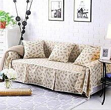 LY&HYL Volldeckung Rutschhemmende Sofa-Abdeckung verdicken Sofa-Tuch Einzelne / Zwei / Drei / Viersitzige Couch-Abdeckung , 215*260Lovesea