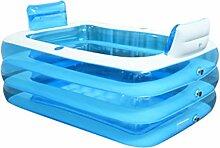 LybCvad Aufblasbare Badewanne PVC Erwachsene Kind