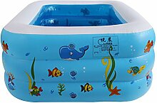 LybCvad Großer aufblasbarer Pool der Kinder