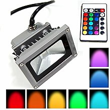 Lychee LED RGB 10W Wasserdicht Farbwechsel Fluter