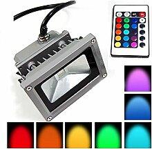 Lychee LED RGB 20W Wasserdicht Farbwechsel Fluter