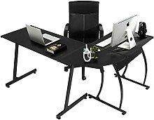 lyf Computertisch Schreibtisch L-förmiger