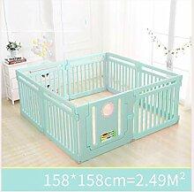 LYFHL Kinder Indoor Spiel Zaun - Baby Sicherheit