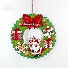 LYFWL Adventskranz Kreative Weihnachtsdekoration