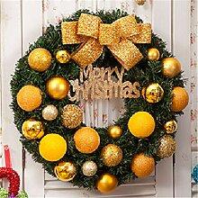 LYFWL Weihnachtsschmuck Weihnachtskranz