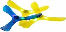 LyGuy LED-Licht 3 Blätter Boomerang Outdoor Fun