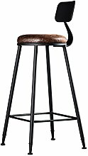 Lying Bar Creative Massivholz Bar Stuhl European Style KTV Bar Stuhl Checkout Zähler Eisen Hocker High Hocker Checkout Zähler Kissen Sessel 41 * 41 * 110cm finden ( größe : 41*41*110cm )