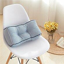 Lying Bedside Kissen Gitter Hause täglich Lendenkissen Büro Kissen Stuhl Kissen Sofa Kissen Bedside Kissen Kissen finden ( Farbe : A )