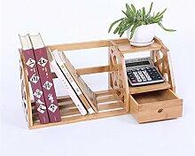 Lying Büro Schreibtisch Kleine Bücherregale Regal Student Bücherregal Regal Storage Rack finden ( Farbe : H )